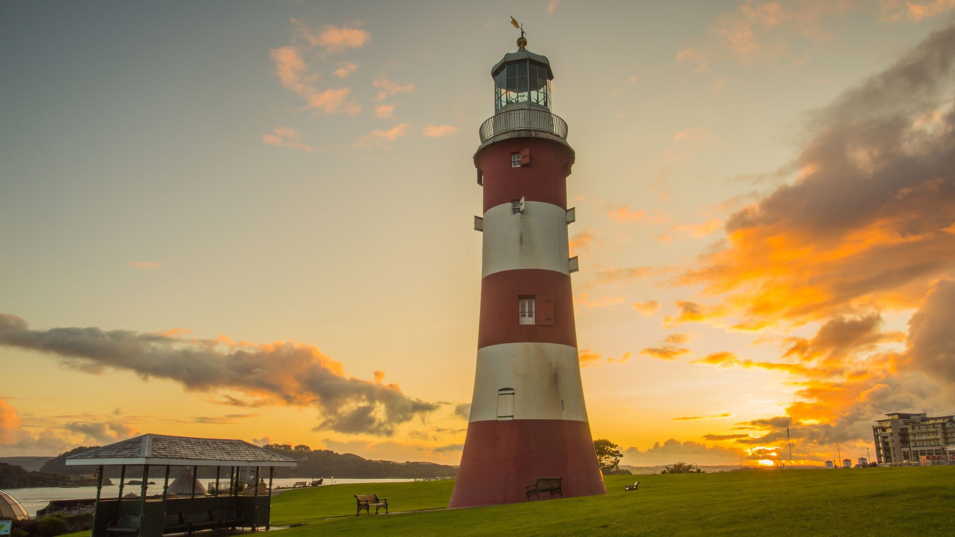 Plymouth Hoe Smeatons Tower